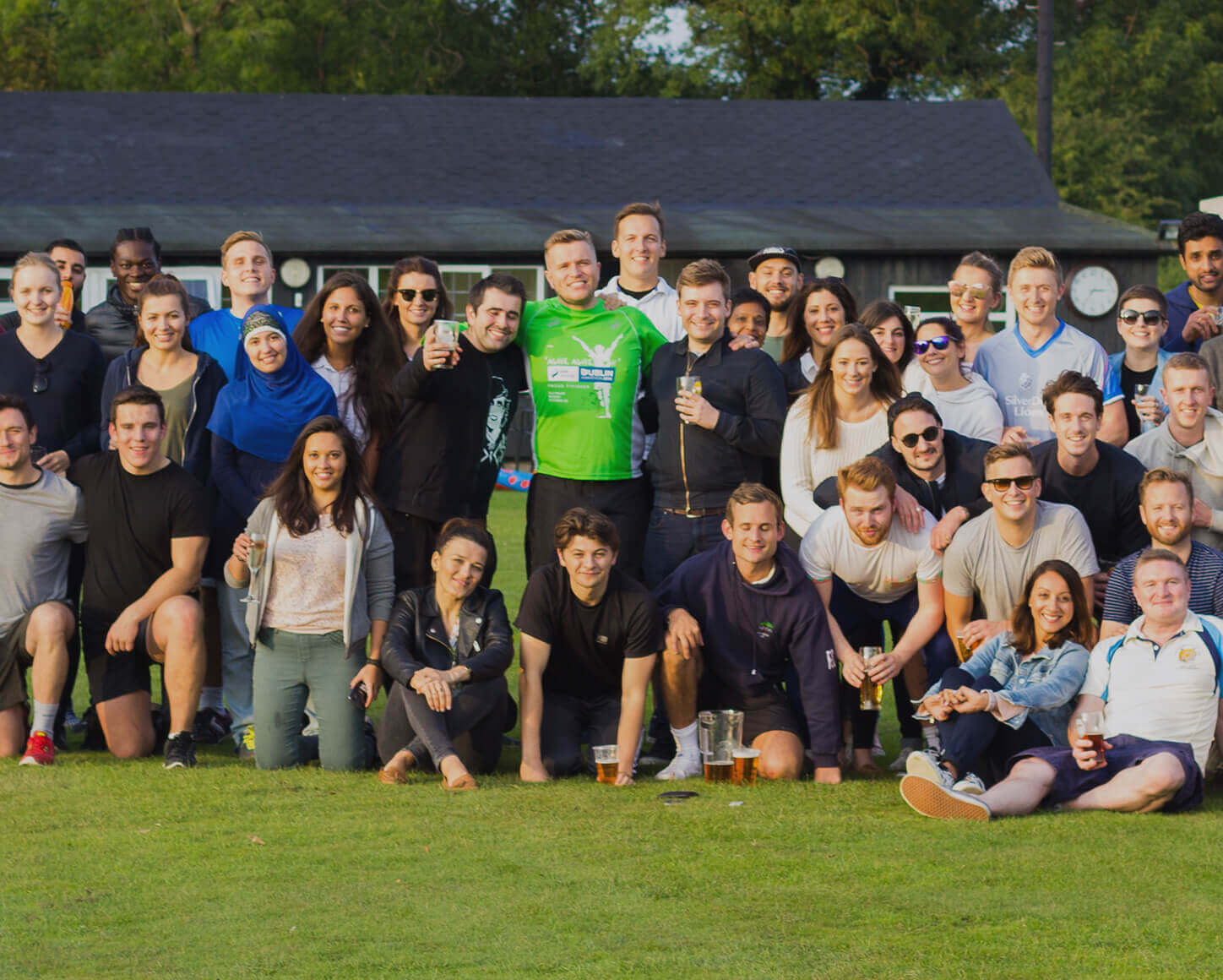 Citybase Apartments team at a charity event